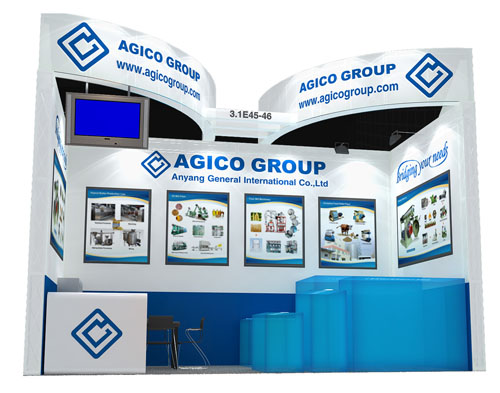 AGICO's 114th China Import and Export Fair booth