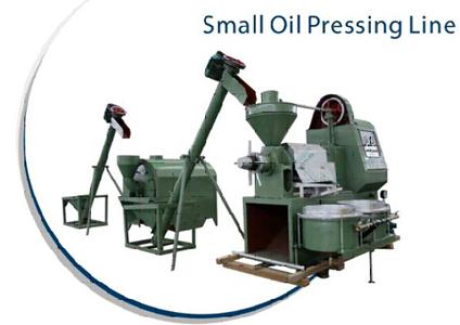 Small Oil Pressing Plant