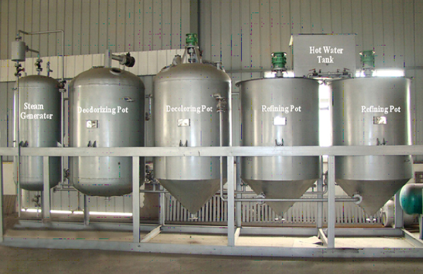 corn germ oil refinery equipments