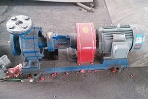 bleached oil pump