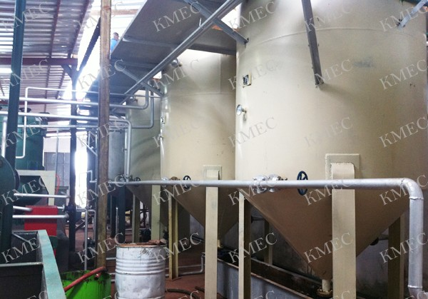 small coconut oil refining plant workshop