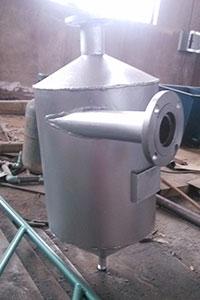 fatty acid collector liquid rotation separator