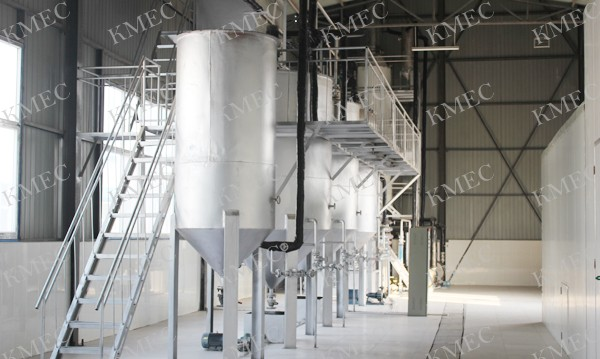 small grape seed oil refining plant