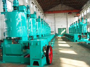 oil mill production line