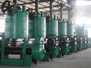 corn germ oil pressing machine plant