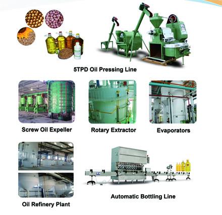 oil pressing line