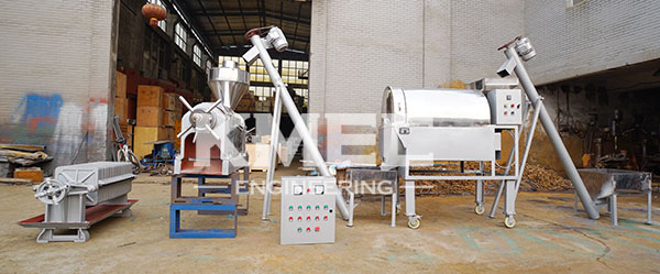 small palm kernel oil pressing line to Nigeria
