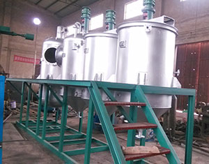 olive oil refining pots