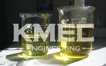 pure soybean oil after refining