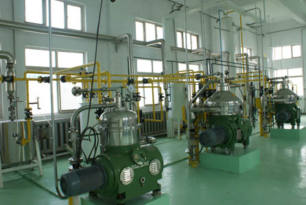 soybean oil producing plant