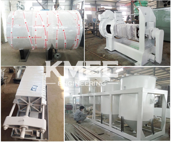 sunflower oil press and refinery machinery
