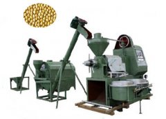 mini soybean oil production assembly unit