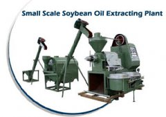 soyabean oil extracting