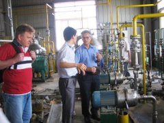 waste palm oil degumming and dewatering plant