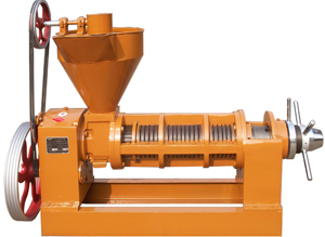 small scale corn oil processing machinery