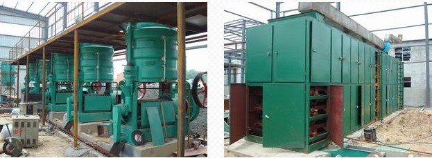 Rice Bran Oil Extraction Line