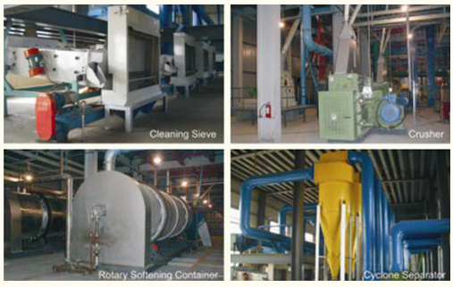corn germ pretreatment machine