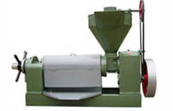 automatic sunflower oil production press