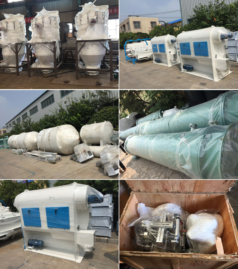 oil pressing and refining equipment inspection and shipping